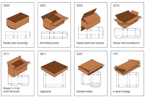Splinterny Papkasser i alle størrelser - Stort udvalg og lave priser BZ57